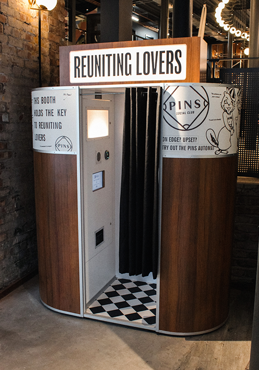 Bowling Venue Photo Booth