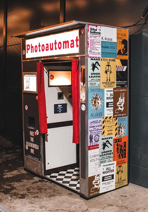 Photoautomat Photo Booth